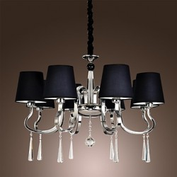 40W Modern/Contemporary / Traditional/Classic / Rustic/Lodge / Vintage / Country / Island Chrome Metal ChandeliersLiving Room / Bedroom /