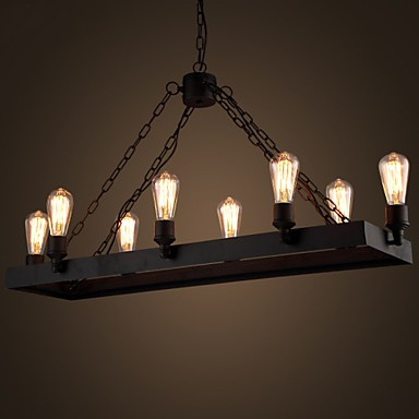 Modern Retro Loft Chandeliers American Country Chandelier Creative Industrial Cafe Lamp Bedroom Living Room Lights