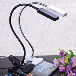 Clamp On Table Lamps, Modern/Comtemporary Metal
