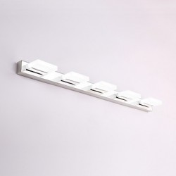 Bulb Included/LED Wall Sconces/Bathroom Lighting , Modern/Contemporary LED Integrated Metal