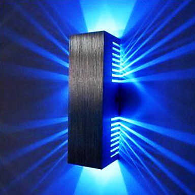 2w modern led wall light with scattering light design 2 cubic shades 2w modern led wall light with scattering light design 2 cubic shades aloadofball Choice Image