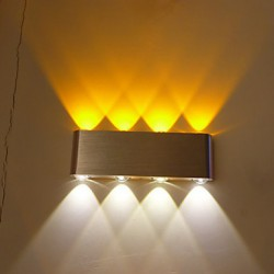 Multi-T Color Temperature Lamp Creative Bar Model Wall Sconces LED / Bulb Included Metal 85-265V 6W