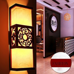 Archaize Corridor Corridor Classical Sheepskin Wall Lamp LED Light