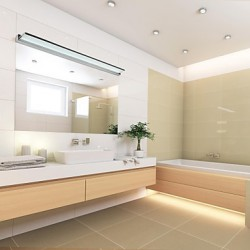 LED Mirror Lamp Stainless Steel And Acrylic 100~240V