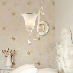 28*36CM Europe Type Restoring Ancient Ways, Wrought Iron Bedroom Wall Lamp LED Light