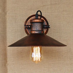 Loft industrial Warehouse Creative Living Room Balcony Wind Ferruginous Nostalgic Retro Pastoral Staircase Wall Lamp