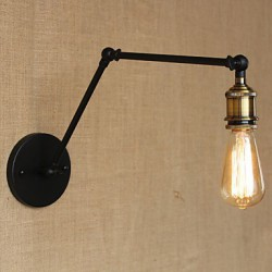 A Simple Modern American Country Without The Mirror Wall Lamp Shade Iron Arm