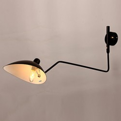 Loft Amercian Countryside Freely Wall Lights Vintage Bedside Long Mechanical Work Study Lamp For Indoor