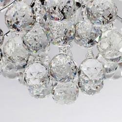 Chandelier Modern Crystal 3 Lights