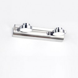 Wall Sconces / Bathroom Lighting / Reading Wall Lights LED / Mini Style / Bulb Included Modern/Contemporary Metal