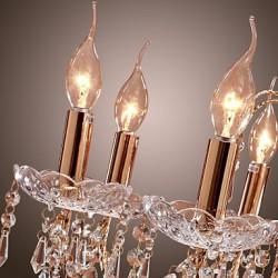 Elegant Crystal Chandelier with 9 Lights