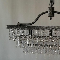 MAX:60W Traditional/Classic Crystal Metal Chandeliers Bedroom / Dining Room / Study Room/Office / Hallway