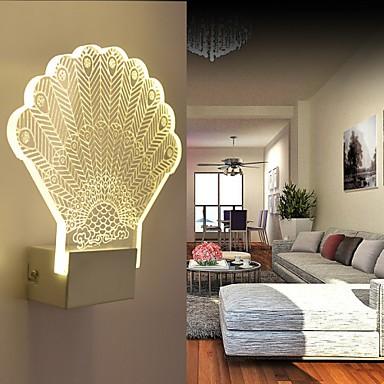 Acrylic Wall Lamp Pvc Light Led