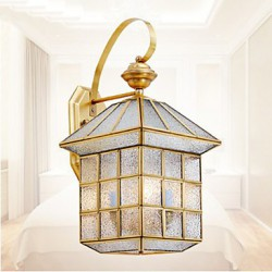 Outdoor Lamp, Garden Lamp, Outdoor Lamp, Full Copper Lamp D