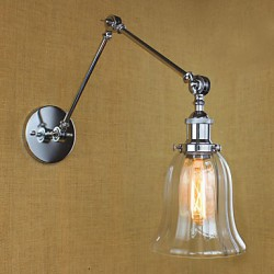 Wall Sconces / Bathroom Lighting / Outdoor Wall Lights / Reading Wall Lights Bulb Included Modern/Contemporary Glass