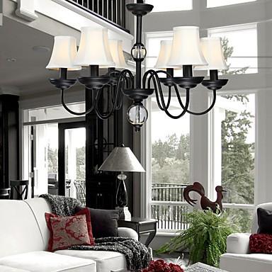 Modern/Contemporary Metal Chandeliers Living Room / Bedroom / Dining Room / Study Room/Office