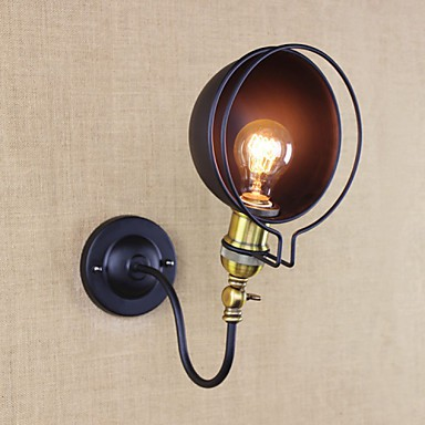 Rustic Wall Reading Lights : Wall Sconces / Swing Lights / Reading Wall Lights Mini Style Rustic/Lodge Metal - Lighting pop