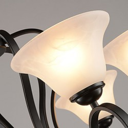 3 Lights Retro Chandeliers/ Country Living Room / Study Room/Office / Hallway Metal