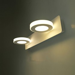 8W LED Bathroom Lighting , Modern/Contemporary LED Integrated Metal