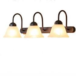 Bathroom Lighting Mini Style Rustic/Lodge Metal