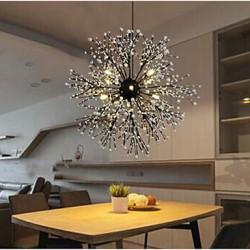 Industrial Wind Star Pendant Decorative Clothing Coffee Bar Club LED Fireworks Spark Light