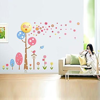 28cm creative 3 d wall paper wall lamp modern night light can remove