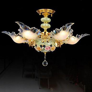 Ceramic Ceiling Lamp, Lamp, Dining Room, Dining Room 6