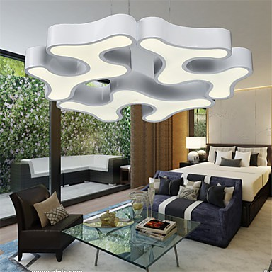 High Quality New Modern Contracted Led Pendant Lights Living Room Bedroom Dining Study Office Metal