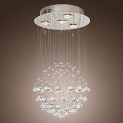 Chandelier Luxury Modern Crystal 4 Lights