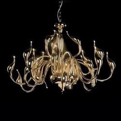 Modern Chandelier Light 24 Lights LED G4 Gold Plating/ Bulb Included/ Living Room / Bedroom