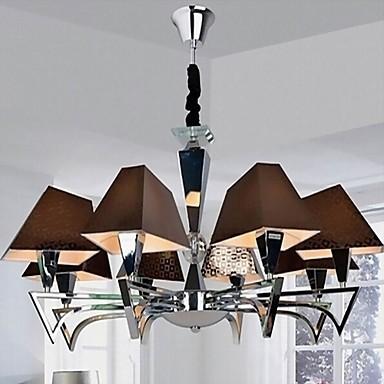 Fashion Wrought Iron Chandelier Lighting Restaurant Art Chandelier with 8 Lights