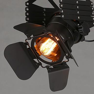 5W 220V 3-8㎡ American Industrial Wind Bar Corridor Clothing Personality Sensor Setting Wall Lamp Led Track Light