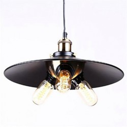 Pendant Light Country Style Wrought Iron
