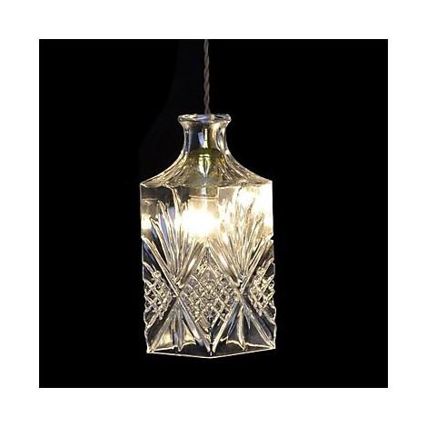 60w Modern Contemporary Crystal Metal Pendant Lights