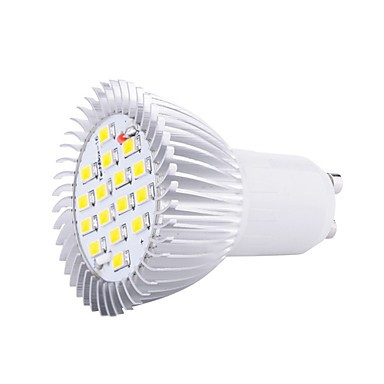 8w Gu10 16xsmd5630 650lm Warm Cool White Color Led Bulbs Spotlights 85
