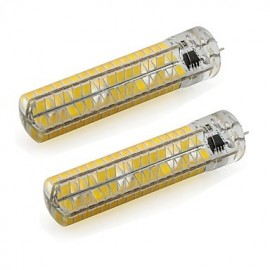 5W Dimmable GY6.35 LED Corn Lights 136 SMD 5730 500Lm Warm / Cool White 110V / 220V (2 Pieces)