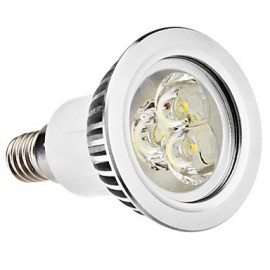 E14 3W 210-250LM 5800-6500K Natural White Light LED Spot Bulb (110-240V)
