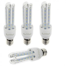 E27 7W 600lm Warm White/White Light 36 SMD 2835 LED Corn Lamps (AC 85-265V)