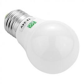 E27 5730SMD 3W 6LED 200-300Lm Warm White Cool White Super High Brightness LED Bulb (AC/DC 12-24V)