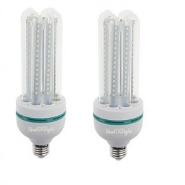 2PCS E27 24W 2000lm Warm White/White Light 120 SMD 2835 LED Corn Lamps (AC 85-265V)