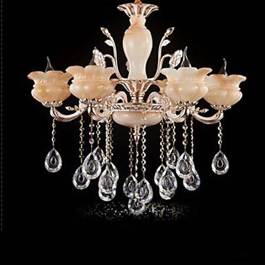 Jade Crystal Pendant lamp Villa Hotel