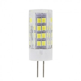 G4 LED Corn Lights T 51 SMD 2835 450 lm Warm White / Cool White Decorative AC220-240V 1 pcs
