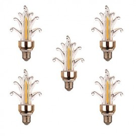 5Pcs Super Bright LED Lighting Energy-saving New LED Candle Bulb LED Pull E27 led Bulb Lamp 4W 300-400LM AC 220-240V
