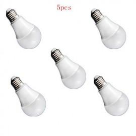 5pcs 9W E27 24XSMD5630 1200LM LED Globe Bulbs LED Light Bulbs(220V)