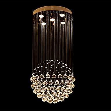 3 Modern/Contemporary / Traditional/Classic / Rustic/Lodge / Tiffany / Vintage / Country / Island Crystal / LED Electroplated Metal