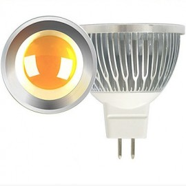 2PCS 5W MR16 LED Spotlight COB 600 lm Warm White / Cool White 12V AC/DC