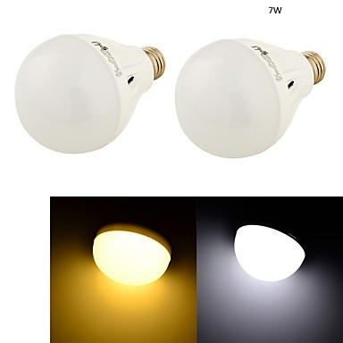 SMD5730 E27 LED Bulb Oval Lamps 3w 7w 12w Warm//Cool White 220v Very Bright Light