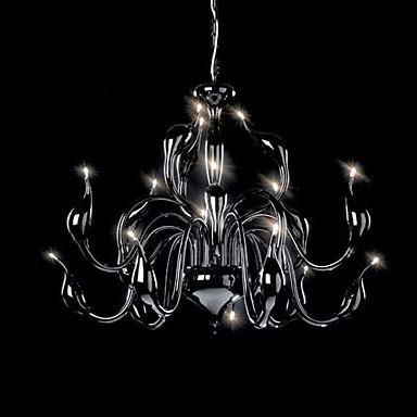 Modern Chandelier Light 18 Lights LED G4 White or Black Finish / Bulb Included/ Living Room / Bedroom