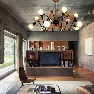 Chandeliers Mini Style Modern/Contemporary Living Room / Dining Room /  Study Room/Office / Game Room Metal