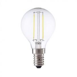 2W E14 LED Filament Bulbs P45 2 COB 250 lm Warm White / Cool White AC 220-240 V 1 pcs